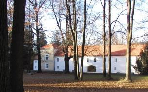 Library in ravne castle